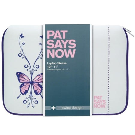 "Pat Says Now 8.9""-11.6"" Laptop Sleeve - Butterfly"