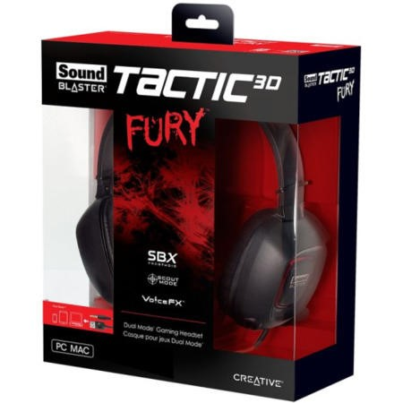Creative Sound Blaster Tactic 3D Fury Dual Mode