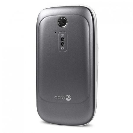 "7118 Doro 6520 Grey/White 2.8"" 3G Unlocked & SIM Free"