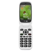 "GRADE A1 - Doro 6530 with Charging Cradle Black/White 2.8"" 3G Unlocked & SIM Free"
