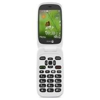 Doro 6530 with Charging Cradle Black/White