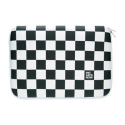 "Pat Says Now 8.9""-11.6"" Laptop Sleeve - Checker Flag"