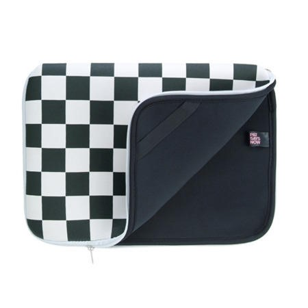 "Pat Says Now 16""-17"" Laptop Sleeve - Checker Flag"