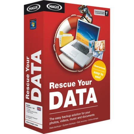 MAGIX Rescue your Data - Electronic Software Download
