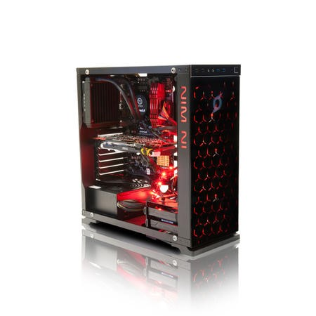 StormForce Inferno Core i7-6700K 32GB 3TB + 250GB SSD with 2x GeForce GTX 1070 Windows 10 Gaming Desktop