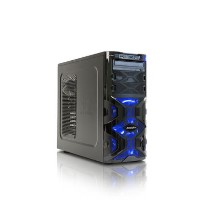 GRADE A2 - StormForce Tornado Core i5-7400 8GB 1TB + 128GB SSD GeForce GTX 1060 DVD-RW Windows 10 Gaming Desktop