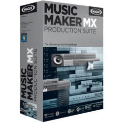 Music Maker MX Production Suite - Electronic Software Download