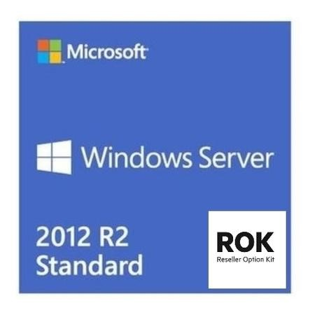 748921-B21 HPE Proliant Windows Server 2012 R2 Standard Multi-Lingual 2 CPU OEM DVD-ROM ROK