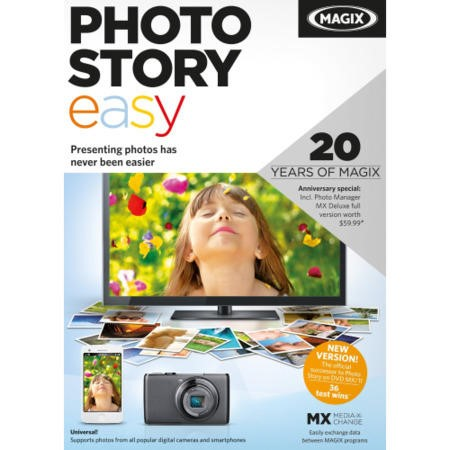 MAGIX Photostory easy - Electronic Software Download