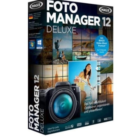 MAGIX Photo Manager 12 Deluxe - Electronic Software Download