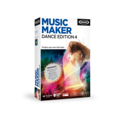 MAGIX Music Maker Dance Edition 4 - Electronic Software Download