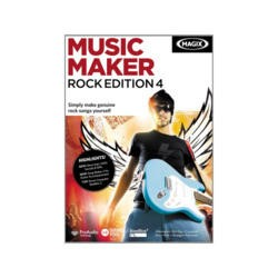 MAGIX Music Maker Rock Edition 4 - Electronic Software Download