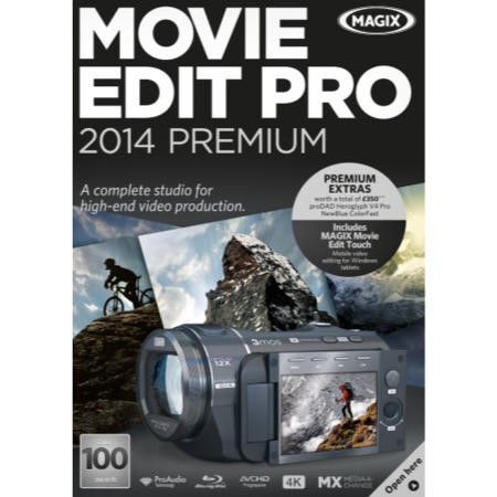 MAGIX Movie Edit Pro 2014 Premium - Electronic Software Download