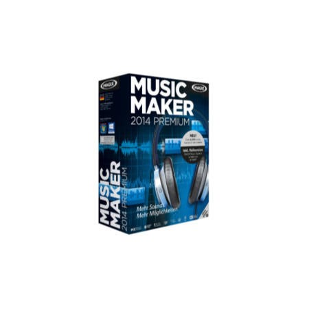 MAGIX Music Maker 2014 - Electronic Software Download