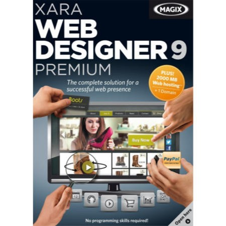 Magix Xara Web Designer 9 - Electronic Software Download