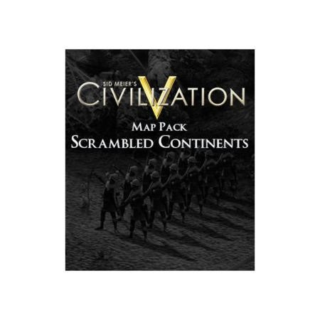 Sid Meier's Civilization V Map Pack Scrambled Continents DLC PC Game