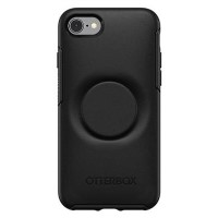 OtterBox Otter+Pop Symmetry PopSocket Case - iPhone 7/8 - Black