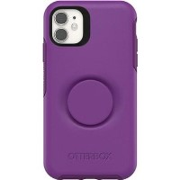 OtterBox Otter and Pop Symmetry PopSocket Case - iPhone 11 - Lollipop Purple