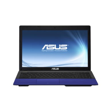 Refurbished Grade A2 Asus K55A Windows 8 Laptop in Electric Blue