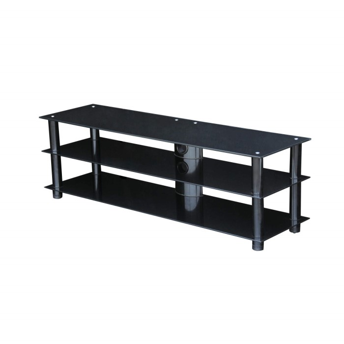 Mmt Blkstd1400 Glass Tv Stand Up To 60 Inch Laptops Direct