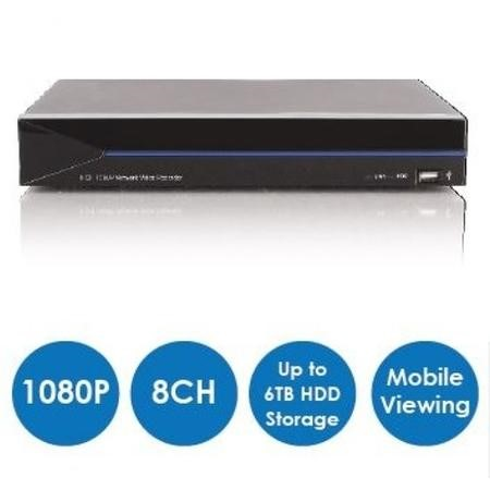 Box Open ALTEQ 16 Channel POE 1080p IP Network Video Recorder with 4TB Hard Drive