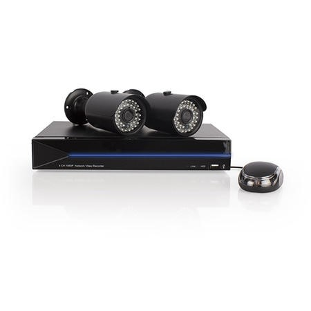 ALTEQ 16 Channel POE 1080p Network Video Recorder with 4TB Hard Drive