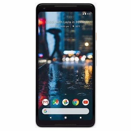 "Google Pixel 2 XL Black & White 6"" 128GB 4G Unlocked & SIM Free"
