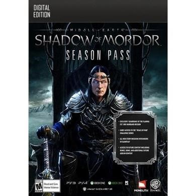 "Middle-earth"" Shadow of Mordor"" Season Pass GOTY Edition Upgrade PC Game"