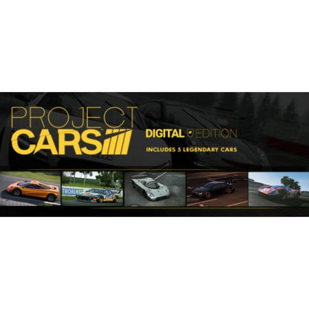 791525 Project CARS - Digital Edition - PC Download
