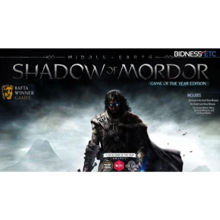 "Middle-earth"" Shadow of Mordor"" - GOTY Edition PC Game"