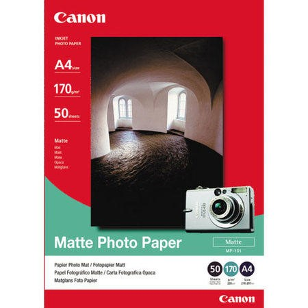 Canon MP 101 Matt Photo Paper - 50 sheet(s)