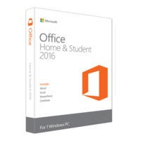 GRADE A1 - Microsoft Office Home & Student 2016