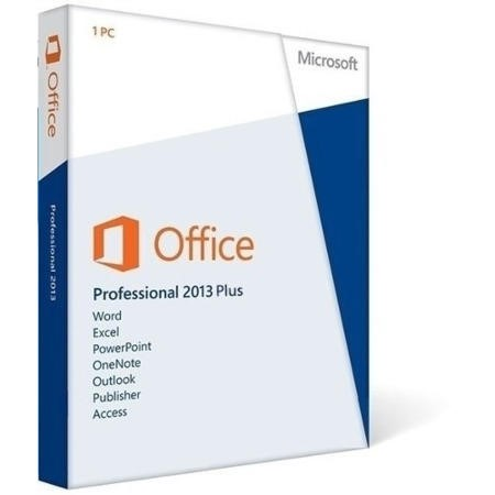Microsoft® Office Professional Plus 2013 Single OPEN 1 License Level C