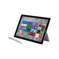 "Microsoft Surface 3 Intel Atom 2GB 64GB WiFi Silver Windows 8.1 10.8"" Tablet"