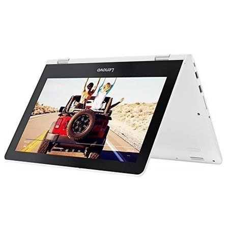 80M100X1UK Lenovo Yoga 300 Intel Celeron N3060 4GB 64GB eMMC 11.6 Inch Touchscreen Windows 10 Laptop in White