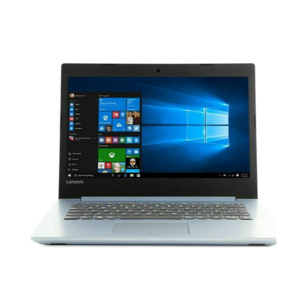 77581516/1/80XU002YUK Refurbished Lenovo IdeaPad 320-14AST AMD A6-9220 4GB 1TB 14 Inch Windows 10 Laptop - Silver / Blue
