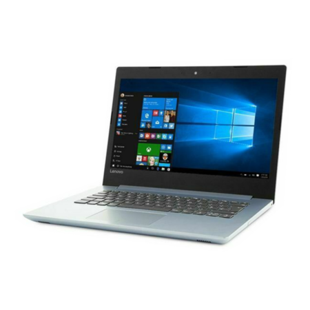 Lenovo IdeaPad 320-14AST AMD A6-9220 4GB 1TB 14 Inch Windows 10 Laptop - Silver / Blue