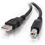 Cables To Go 2m USB 2.0 A/B Cable Black