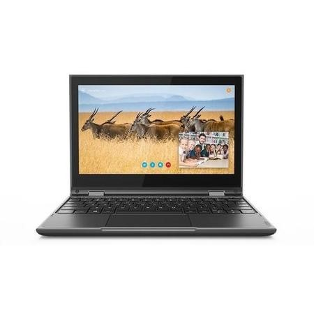 Lenovo 300e Intel Celeron N4100 4GB 64GB eMMC 11.6 Inch Touchscreen Windows 10 Pro 2-in-1 Laptop