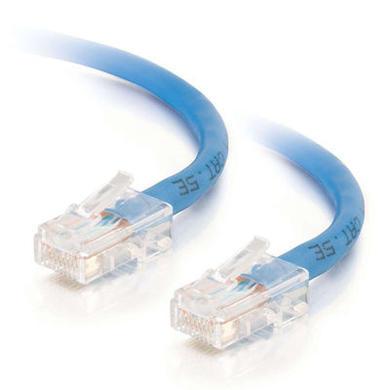 CablesToGo Cables To Go 1m Cat5E 350MHz Assembled Patch Cable - Blue