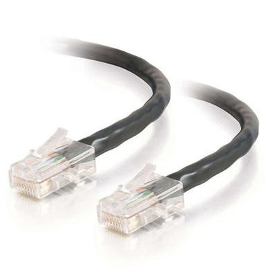 Cables To Go 15m Cat5E 350MHz Assembled Patch Cable - Black