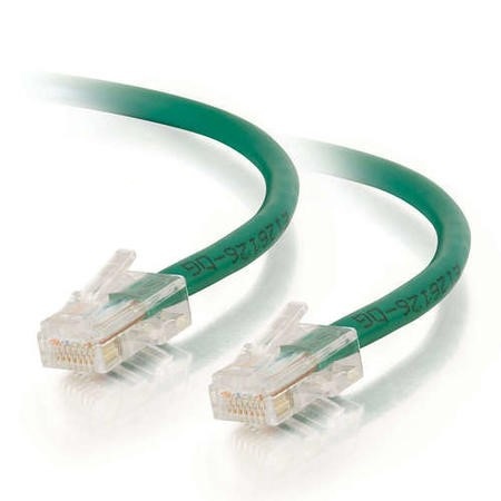 CablesToGo Cables To Go 2m Cat5E 350MHz Assembled Patch Cable - Green