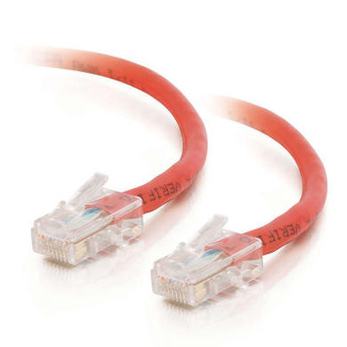 CablesToGo Cables To Go 1.5m Cat5E 350MHz Assembled Patch Cable - Red