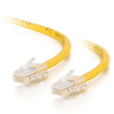Cables To Go 15m Cat5E 350MHz Assembled Patch Cable Yellow