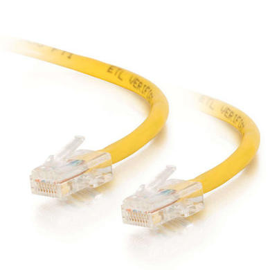 Cables To Go 10m Cat5E 350MHz Assembled Patch Cable - Yellow