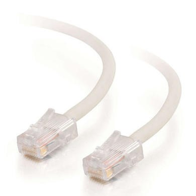 CablesToGo Cables To Go 2m Cat5E 350MHz Assembled Patch Cable - White