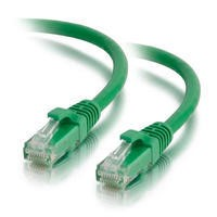 Cables2Go 5M Moulded/Booted Green CAT5E PVC UTP PA