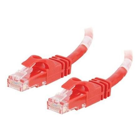 Cables To Go 1.5m Cat6 Snagless CrossOver UTP Patch Cable (Red)