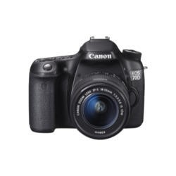 Canon EOS 70D Digital SLR Camera with EF-S 18-55mm Lens