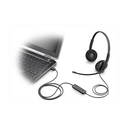 Plantronics Blackwire C320-M Stereo Headset USB